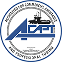 Accredited for Commercial Assistance and Professional Towing